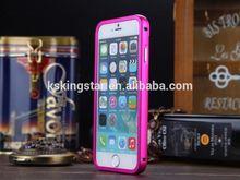 2 in 1 detachable metal case for iphone 6 4.7 5.5 inch,hard aluminium bumper case for iphone 6