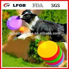 Silicone Dog Frisbee For Training/ Silicone Dog Toys