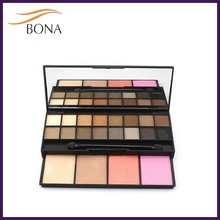 20 colors professional eyeshadow and blush palette christmas hot sale in 2014