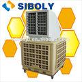 ventilador de aire sopla el aire más fresco aspa del ventilador