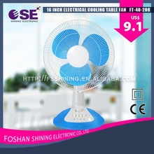 """Professional 16"""" home electric appliance 16 inch strong wind desk fan home electric appliance with low price FT-40-208"""