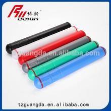 Artist plastic storage tube/drafting storage tube /art drawing PE storage tube supplier