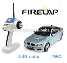 Firelap 1/28 AWD electric racing car game steering wheel rc car