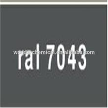 Epoxy/Polyester Resin RAL7043 Traffic grey B powder coating