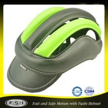 Black PU multi sport horse riding racing helmet