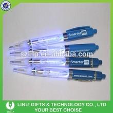 Shenzhen Supplier Led Plastic Pen, Plastic Ball Pen Light, Promotional Pen Light