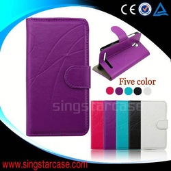 Simple stripe style leather phone case for Samsung Galaxy N9510