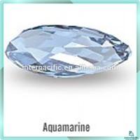 Wholesale Fashion cut loose gems Synthetic Light Blue Aquamarine Spinel