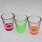 Colored Glass Candle Holder for Wedding Table Decorations