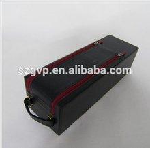 1 piece leather wine bottle case 1405