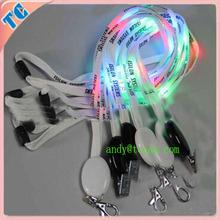 personalized led flashing light lanyards promotional activities