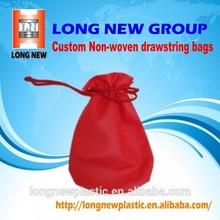Customize printing Non-woven drawstring bag