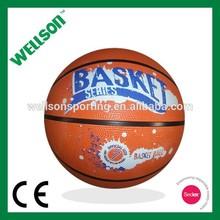 Wholesale rubber basketball