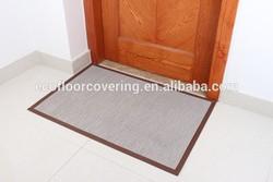 anti-slip woven vinyl plastic mat for hotel,door and chair