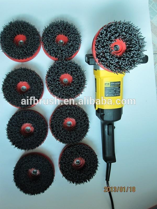 Perceuse lectrique brosse tre utilis pour le nettoyage for Nettoyage canape tissu