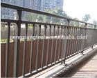 Aluminum Decorative Flat Top Rail Fence panel,/Aluminum Alloy Railing