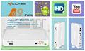 Wifi-receiver für tv azclass a9 android tv box digital media player dvb-s2-player twin-tuner-tv-empfänger Unterstützung cccam