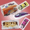 La llegada de nuevos diseños de coches& de chocolate galletas