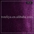 100% composición de poliéster de color púrpura sofá de terciopelo