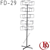 FD-29 christmas fitted cap hat display rack