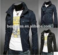 Good quality new Designs Fashion Keep Warm 2015 Winter men's coat men jacket slim