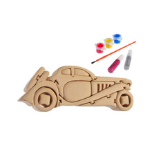 3D wooden craft puzzle vintage vehicle