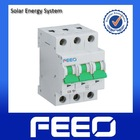 Direct current PV system breaker Solar energy 25A 3P 250V MCB Switch