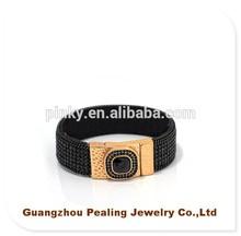 (PLL-101548-49)Ali Express China Magnetic Clasp Gold Rhinestone Bracelets