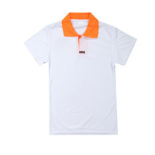 washed new style 100% organic cotton carbon fiber polo shirt