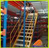CE certificate metal mezzanine shelving units for warehouse storage