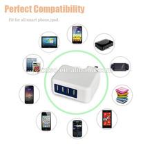 4 port usb power adapter Universal World Plug for phone/tablet