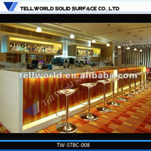 commerical restaurant/nightclub/party modern design bar counter furniture