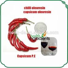 Chinese professional supply liquid form chilli oleoresin/capsicum oleoresin /Capsicum extract from chili