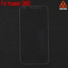 2.5d 9h dureté 0.33mm anti rayures en verre trempé g660 protecteur d'écran pour huawei