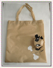 pet shop gift shopping bag/folding gift bags/cat dog folding bags