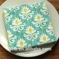 menta verde de la cena de papel servilleta servilleta de mesa de impresión de dinero falso