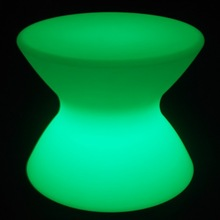 Night club and party fancy plastic LED lighting bar table