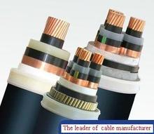 low voltage 3.6/6kv Cu/XLPE insulation/PVC sheath power cable
