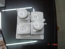 Fashion cheap creative ceramic cruet set