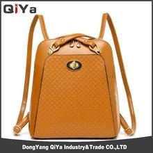 Fashion PU single strap backpack leather