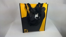 strap and handle bear non woven shopping bag with lamination