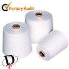 45 / 1 close virgin 100 polyester spun yarn made