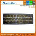 especial top vender teclado sem fio e mouse combo define