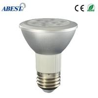 New Product 7watt Medium Base Par20 Led Light Bulbs Dimmable Daylight 4000k