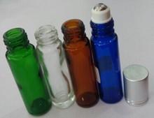 Glass roll on bottle