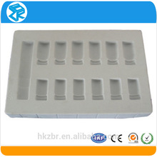 high quality cumtom disposable cosmetics tray with compartments plastic compartment tray for cosmetics