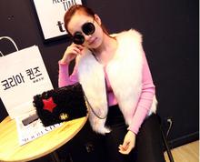 BV204 Handbags 2014 new winter lambs wool twist lock chain bag retro shoulder bags for women