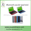 Wholesale hot selling top quality for ipad 2 leather case with bluetooth keyboard