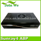 Special Discount!!! sunray4 hd se sr4 a8p d13 triple tuner wifi digital receiver with sim a8p card for sunray sr4 d13