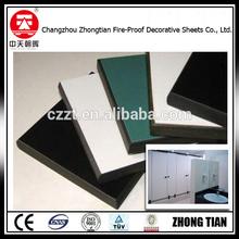 zhongtian hot sale hpl phenolic resin compact laminate board